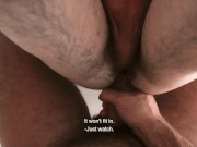 Czech Hunter - Horny Dude Takes Big Cock Up His Virgin Ass For Extra Cash