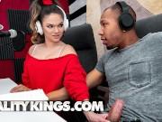 Reality Kings - Curvy white girl Athena Faris tries some bbc
