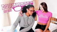 Teen gee College nerd tries lesbian pussy for the first time - model time