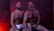 Gay furrotica Bearback - silver daddy cant get enough fur