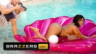Busty chavon Brazzers - busty and curvy ms yummy los big white cocks