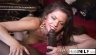 Black couger milf Hot cougar gets some big black cock