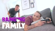 Home video fuck videos Banging family - video games playing step-sister fucked hard