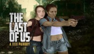 Ffm teen sex The last of us ellie and riley ffm threesome in vr xxx parody