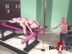 Bruce Seven – Freaky Lesbians Play With Tight Bondage