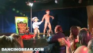 Cfnm dancing bear cum in mouth Dancingbear - strip club debauchery, cfnm style
