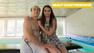 Young woman nude massage Massage ends up on my face