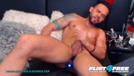 Latino gay porn free Flirt4free - logan cardenas - hunk latino cam model hard masturbates his big cock w toys up his ass