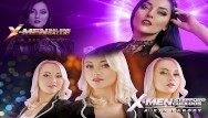 Sexiest pornstar contest sasha vs katie X-men xxx cosplay battle: selene gallio vs stepford cuckoos. who wins