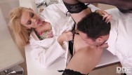 Breast milk clinical trial study Big titty nurse amber jayne nailed hardcore by the doc in the kinky clinic