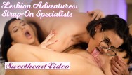 Free lesbian sex vdeos Sweetheart - ink thicc romi rain gets strapon fucked by penny barber