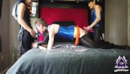 Training pant adult 2 asian female dommes spitroast white male in surprise 3some part 1 of 5 - sideoflight