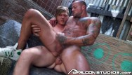 Gay naked guys fucking Falconstudios - guys plan to double team girl but would rather fuck each other