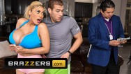 Busty blonde pic Brazzers - amber alena desperately wants her training instructors big cock