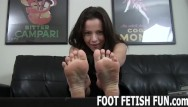New fetish porn on sattellite channels Pov foot massage and femdom feet worshiping porn