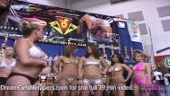 Bikini trrns Skimpy bikini contest on spring break