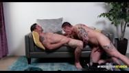 Gay jocks in spandex Nextdoorstudios - inked jock takes his dates long hard dick