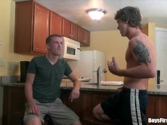 Realitydudes - Ben The Jock Enjoys His First-ever Time Bootie Fucking