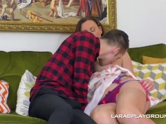 His Very First Time With A Brit Milf