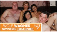 Thearter gangbang Old swingers ugly grannies and grandpas pleasure each other wolf wagner
