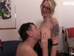 Reife Swinger - Good-sized Baps German Cougar Wifey Molten Hookup With Her Super-naughty Husband