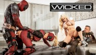 Porn picture serach Wicked - deadpool finally gets off in his porn movie