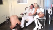Boots fetish tgp Princess bitchy barbie give her master a handjob and cuckold joschi need clean his boots