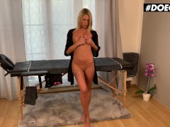 DoeGirls - Claudia Macc Hot Booty Czech Plays With Her Tight Pussy Till Climax