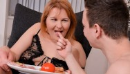 Granny spanked and fucked Hot granny gets drilled in the morning