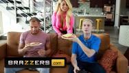 Paul johnson porn Brazzers - horny blonde bridgette b loves having a double penetration