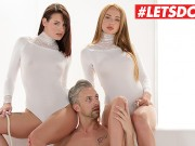 WhiteBoxxx - Kaisa Nord & Elena Vega Russian Babe Sensual Threesome With Her Lover And Her Friend - LETSDOEIT