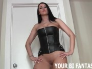 Femdom Blowjob Training And Bisexual Fetish Porn