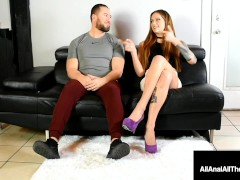 Butt Ravaged Honey Maria Marley Gets Her Cock-squeezing Ass-hole Crammed As Fellow Looks On