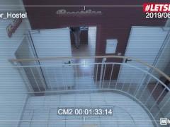 HornyHostel - Sofi Smile Slutty Russian Teen Teases Bangs Muscular Hotel Janitor - LETSDOEIT