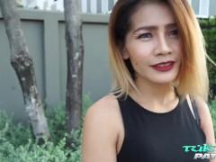 TukTukPatrol Big Tit Thai Babe Only Fucks Big Dick