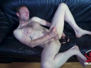 Straight guy struggles with big toy