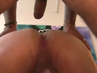 Silver Fox Fucked Raw and bred by Young Stud