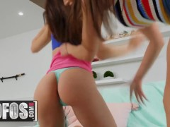 MOFOS - Sensual Girl On Girl Action With Sexy Brunettes Aidra Fox & Desiree Dulce