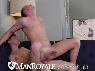 ManRoyale Horny Guys Fuck On Thanksgiving