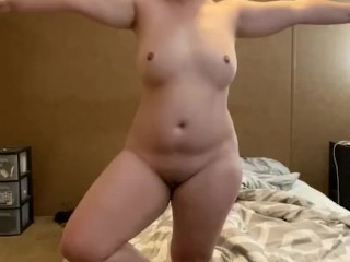 Naked Yoga With Thicc Wife