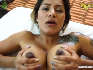 CarneDelMercado – Camila Santos Amateur Colombian First Threeway With Horny Guys – MAMACITAZ