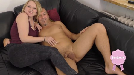 DADDY FUCKS ME WITH A HUGE DICK!