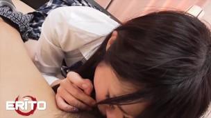 Erito – Brunette Petite Asiatiska Babe Kokone får en orgasm med en dildo