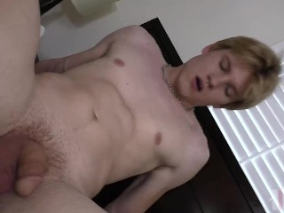 18 Year Old Teen Gets Fucked By Daddy Rough