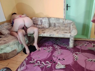 Cuckold Husband Watch and Stroke While Wife got Fucked on Casting