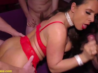 extreme anal orgy with sexy susi