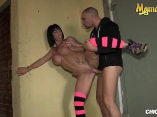 ChicasLoca – Suhaila Hard Big Tits Spanish Brunette Gets Her Tight Pussy Banged Hard Outside – MAMACITAZ