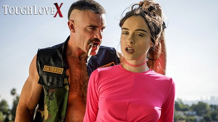 TOUGHLOVEX Lily Glee challenges Karl Toughlove to a game of strip poker
