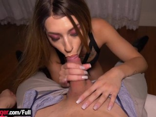 Amazing ass Brazilian blonde hottie enjoys anal sex the most