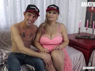 Scambistimaturi – Huge Tits Romanian Mature Slut Drilled Deep In Her Pussy By A Big Cock Stud